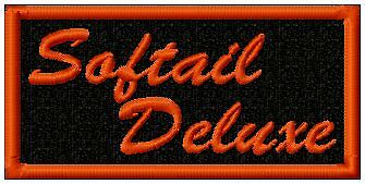 Softail Deluxe Biker Patch