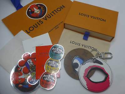 Louis Vuitton with Kanzo Yamamoto Japan Limited Item Key Chains From JAPAN F/S