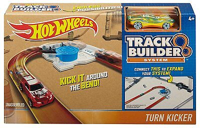 Hot Wheels Workshop Track Builder Turn Kicker Track DJD67 Kurve selten NEU & OVP