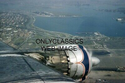 1958 Eastern Airlines Lockheed Constellation Airplane Photo Laguardia Airport Ny