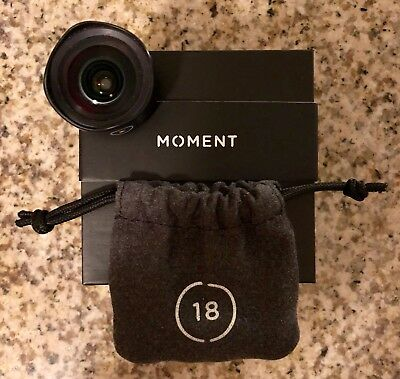 Moment Wide Lens 18mm (iPhone 5/iPhone 5S/iPhone SE) VERY GOOD CONDITION