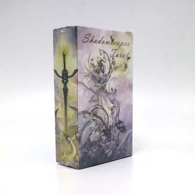 shadowscapes tarot cards game 78 cards deck raindrop water proof free shipping t