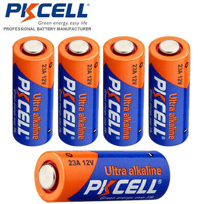 5 x 23A A23 21/23 MN21 23AE Alkaline Battery For Car Remote Control,12V New