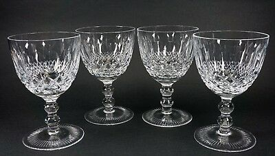 Pasco Elmwood Water Glass Crystal Stem - Set of 4 - Perfect Condition