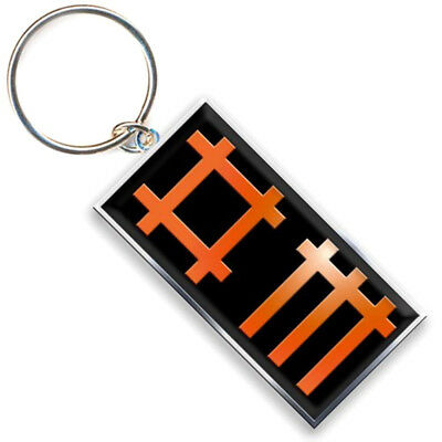 Authentic DEPECHE MODE Sounds Of The Universe Metal Keychain Key Chain NEW