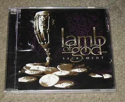 Lamb Of God - Sacrament [Edited] (CD, Aug-2006, Epic)