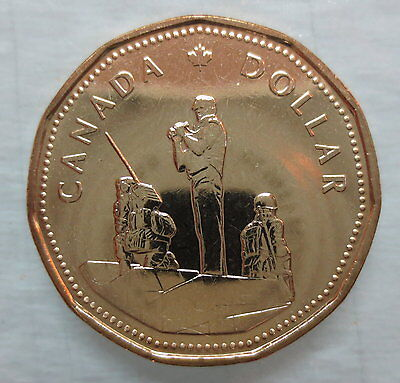 1995 Peacekeeping Loonie Brilliant Uncirculated Coin