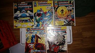 Marvel Transformers UK Comic Lot