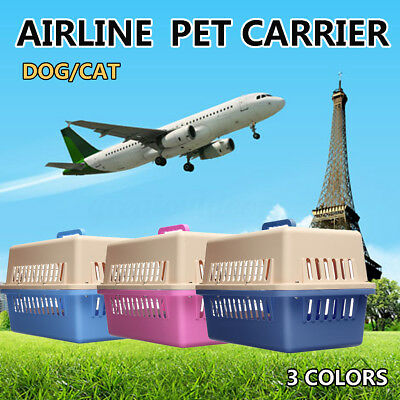 Pet Dog Cat Carrier Portable Tote Crate Kennel Travel Carry Bag Cage Airline AU