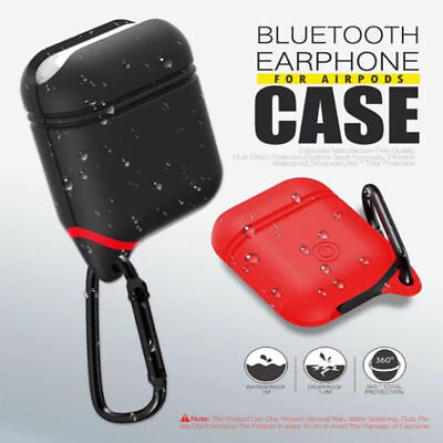 Mixed colors For Case AirPods Protect Rubber Charging Cover Hang Pouch Case Skin