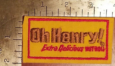 Oh Henry Extra Delicious Nutroll Vintage Patch