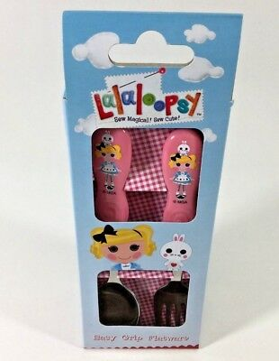 Lalaloopsy Kids Easy Grip Flatware Spoon & Fork Cutlery Set . Zak Designs