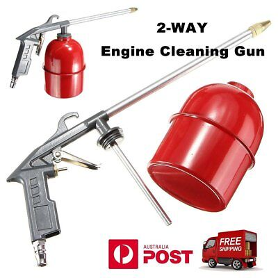 Auto Car Engine Cleaning Gun Solvent Air Sprayer Degreaser Siphon Tool Gray PP