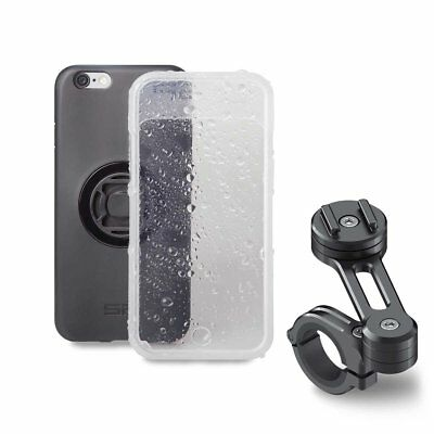 SP Connect Motorcycle Motorbike Mount Holder Case Bundle For Apple iPhone 7 6S 6