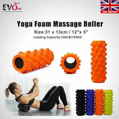 Physico Foam Roller Deep Tissue & Trigger Point Massage Muscle Roller Yoga Gym