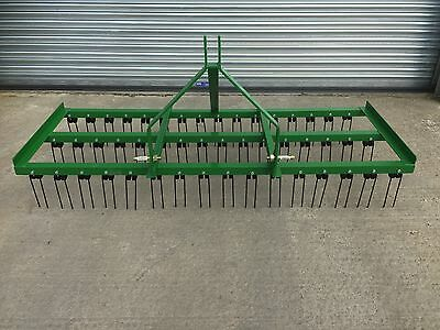 Spring Tine Harrow, Grass Harrow, Tractor Harrow, Field Harrows 3 Row
