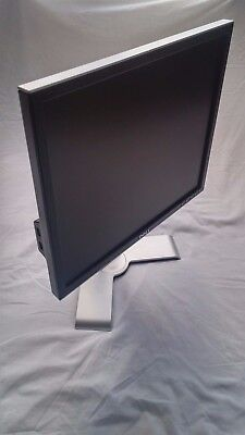 """Dell 1907FPc 19"""" LCD monitor (marked) with stand"""