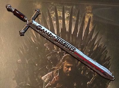 "Game of Thrones: Eddard Stark's ""ICE"" Letter Opener/Mini Replica Sword"