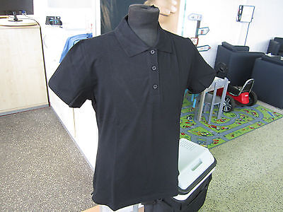 4x Volkswagen Lifestyle Collection Schwarz Damen Gr.L T-Shirt Polohemd 4 Stück!!