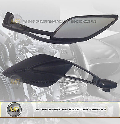 For Yamaha Tt R 125 Lwe 2009 09 Pair Rear View Mirrors E13 Approved Sport Line