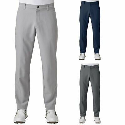 adidas Golf 2018 Mens Ultimate+ 3-Stripe Stretch Tapered Trousers 40% OFF RRP