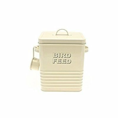 Lesser and Pavey Home Sweet Home Birdfeed Container, , Cream