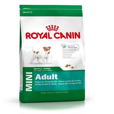 8kg ROYAL CANIN Mini Adult Small Dogs Trockenfutter von Bravam 3182550716888