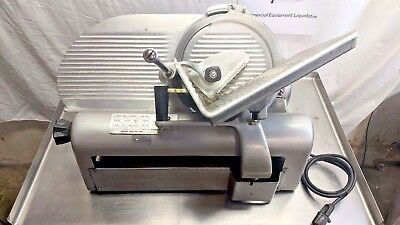 """Hobart 1612 12"""" Deli Style Commercial Meat Slicer 1/4HP ***Tested & Working***"""