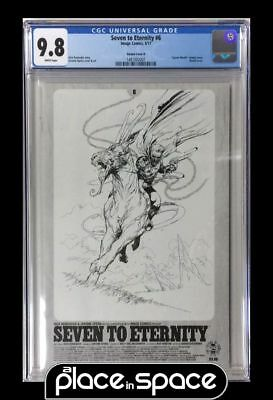 Cgc 9.8 - Seven To Eternity #6 - Spawn Sketch Variant