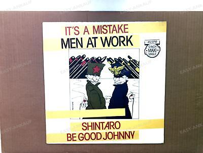 Men At Work - It's A Mistake Europe Maxi 1983 /4