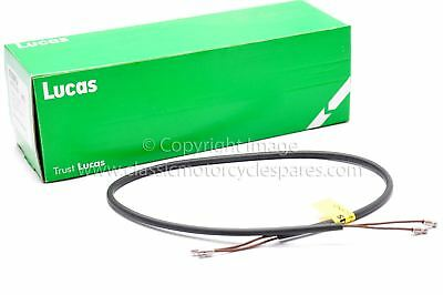 "Wiring Harness, Mudguard 2 core Stop/Tail, 30"", Genuine Lucas"