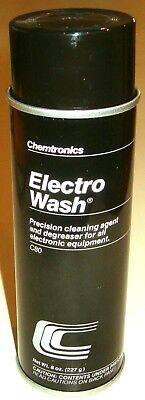 8 oz. Spray Can Electro Wash Electronics Cleaner/Degreaser (Chemtronics C80)