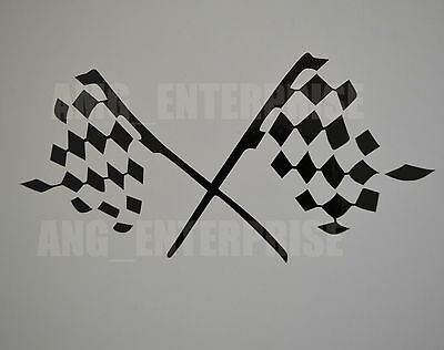 Black Chequered Flag Decal Sticker Vinyl for BMW 1 2 3 4 5 6 7 Series 1M M2 M3 M