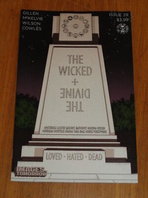 Wicked + Divine #29 Image Comics Variant July 2017