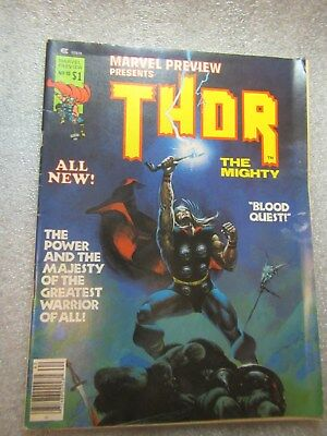 "Marvel Preview Presents ""THOR"" The Mighty  1977 Vol. 1, #10"