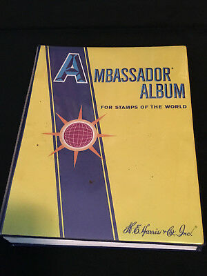 1983 Ambassador Album For Stamps of the World 1,200+ Stamps, 75+ countries
