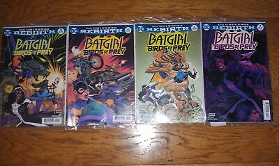 DC Rebirth Batgirl And The Birds Of Prey #1,2,3,4. 1st Print.