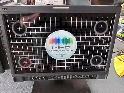 "JVC DT-V20L1D 20"" Native HD Multi-Format Professional Broadcast Studio Monitor."
