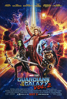 Guardians of the Galaxy Vol. 2 2017 U.S. One Sheet Poster
