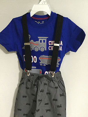 """New, Boys or Girls, Black, 1"""", Adj., 30"""", Suspenders / Braces, Made in the USA"""