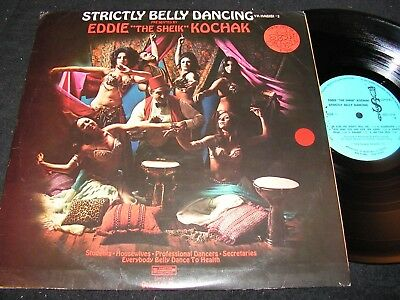 "EDDIE ""THE SHEIK"" KOCHAK Strictly Belly Dancing / Israel LP 1973 SCEPTER SPS5114"