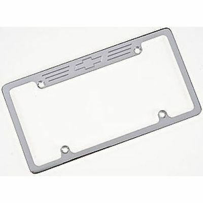 Billet Specialties 55623 License Plate Frame - Bowtie Polished