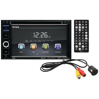 BOSS AUDIO BVB9364RC Double-DIN In-Dash DVD/MP3/CD & AM/FM Receiver Bluetooth