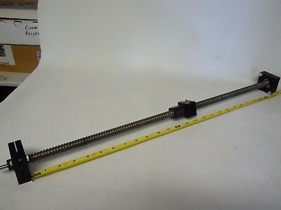"Nhk Linear Motion Precision Roller Ball Screw. 24"" Travel Length."