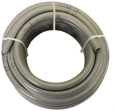 1/2 in. x 25 ft. Non-Metallic Liquid Tight Flexible Wire Cables Conduit Tubing