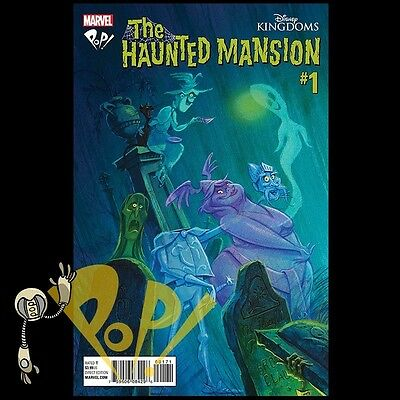 Disney Kingdoms HAUNTED MANSION #1 Pop! Comics EXCL Variant JODY DAILY Marvel NM