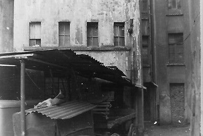 8 original Negative - Wuppertal Im Bökel Behausung - ca. 1945/50