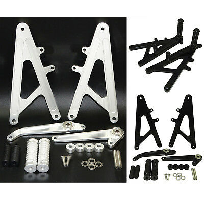 Rearsets Footrest Foot Rest Peg Rear Set For HONDA RS125 GP125 RS125GP RS 125 GP