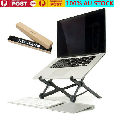 Portable Adjustable Foldable Notebook Holder Desk Stand EyeLevel Laptop PC Stand