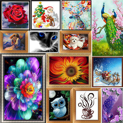 Flower Animal 5D DIY Diamond Painting Embroidery Cross Stitch Craft Wall Decor